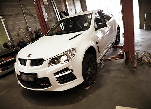 Holden Commodore xforce exhaust