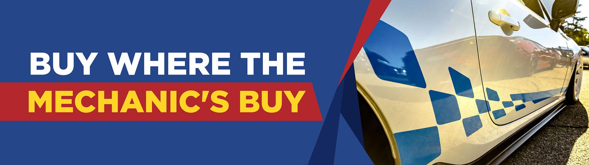 online car parts shop banner